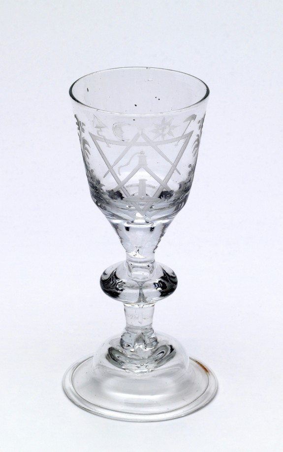 Goblet with Masonic Emblems