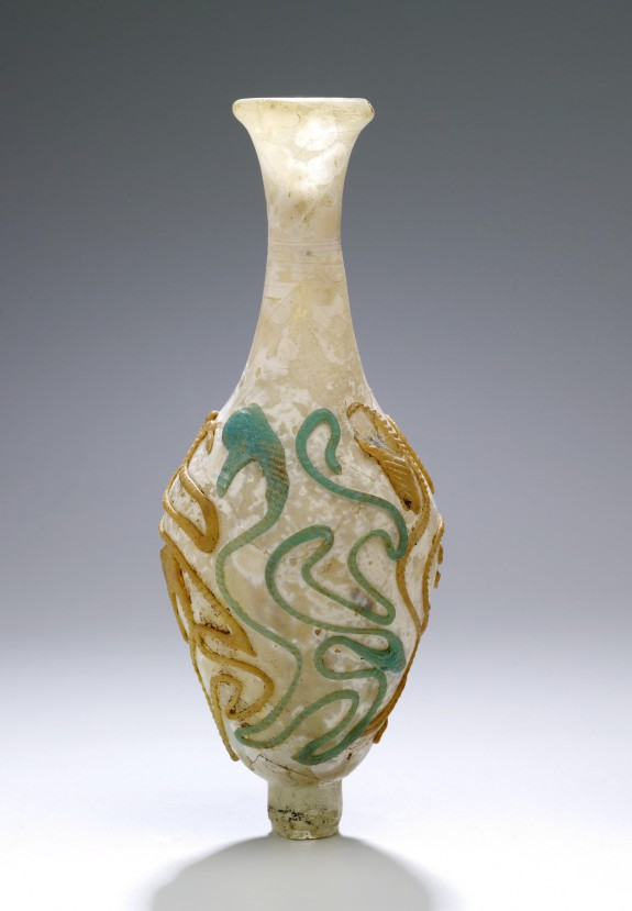 Vase with Snake-Thread Decoration