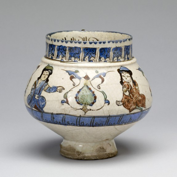Jug with Four Seated Musicians