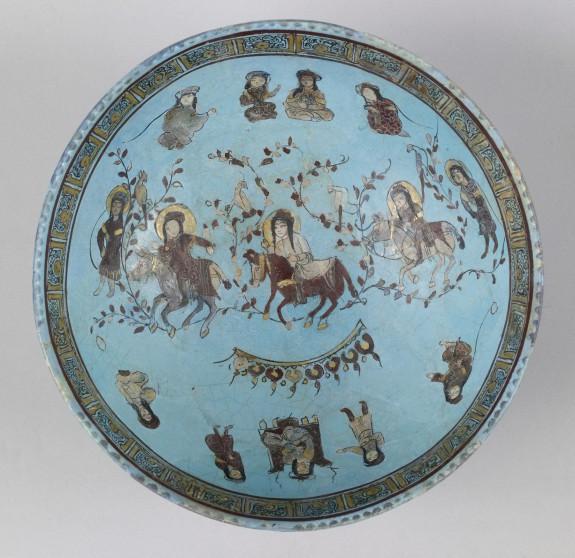 Bowl with Horsemen