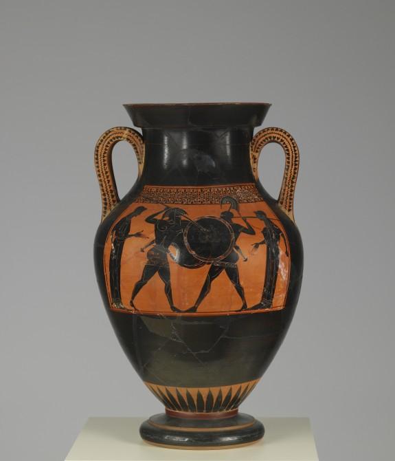 Amphora with Scenes of Combat