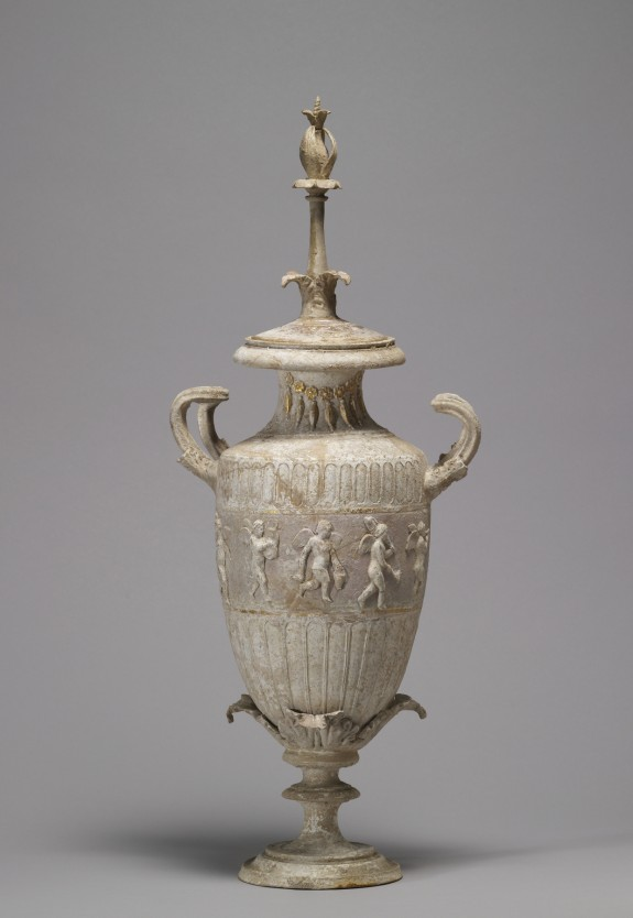 Amphora with Polychrome and Relief Decoration