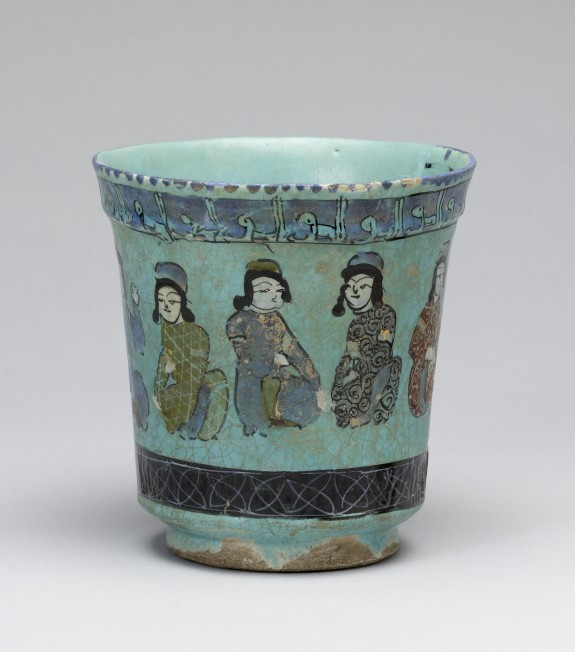 Beaker with Seated Figures