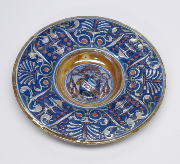 Bowl with the Arms of Cardinal Ciocchi del Monte San Savino