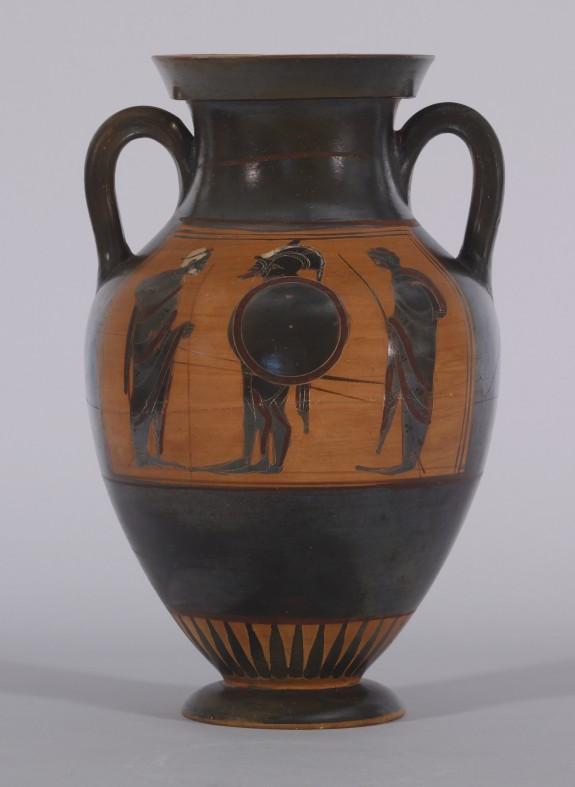 Amphora with Departure Scene and Quadriga