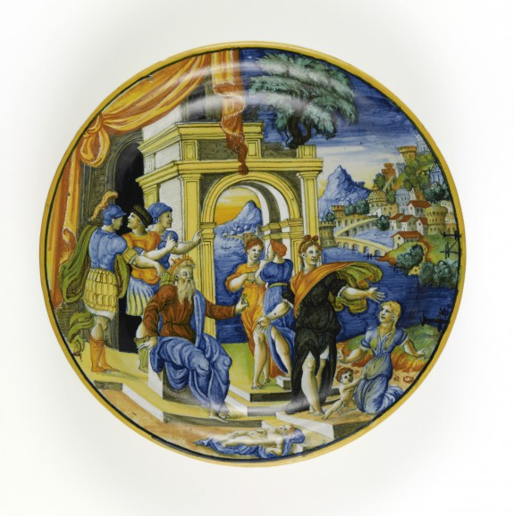 Dish with the Judgment of Solomon
