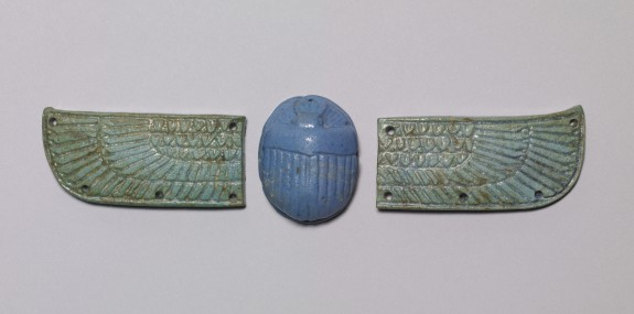 Scarab with Wings