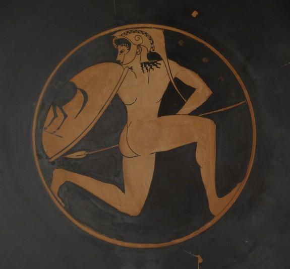 Kylix with Running Warrior