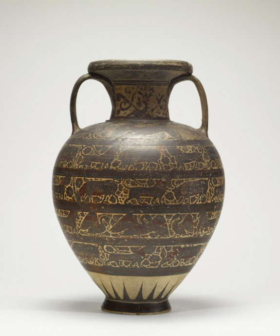 Amphora with Animal Frieze
