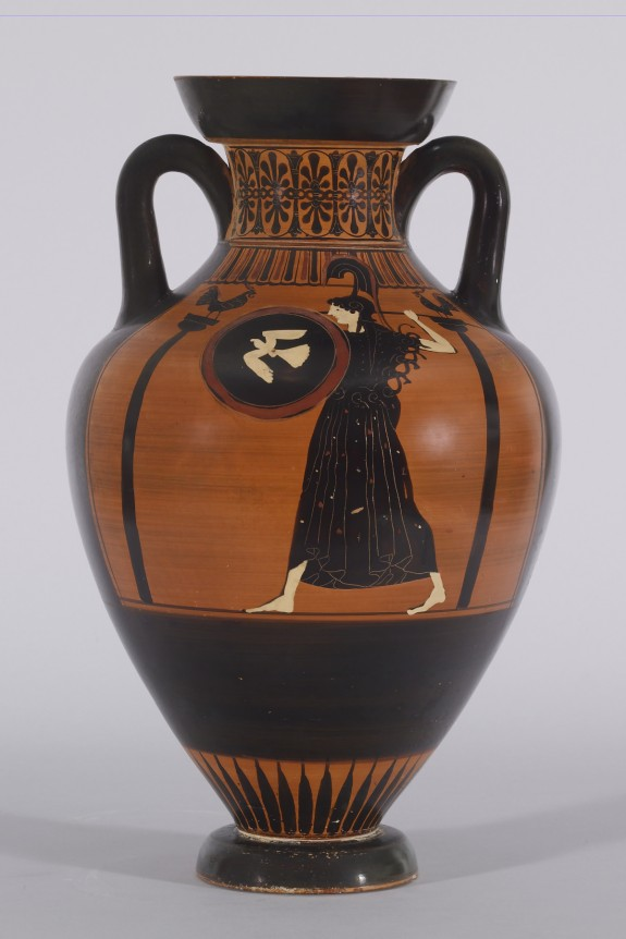 Pseudo-Panathenaic Amphora with a Musical Competition