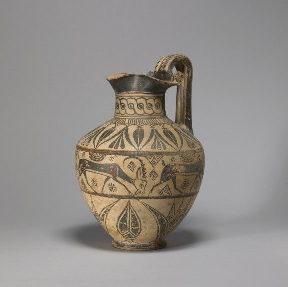 Oinochoe in the Camirus, or