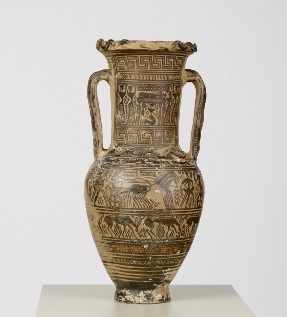 Amphora with Funerary Scenes