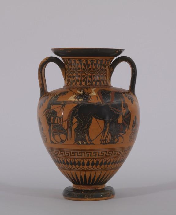 Amphora with Departure Scene