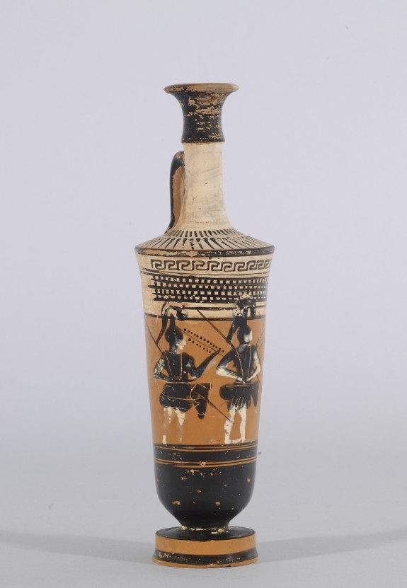 Lekythos with Three Amazons