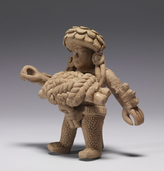 Standing Figure with a Tied-Rope Pectoral