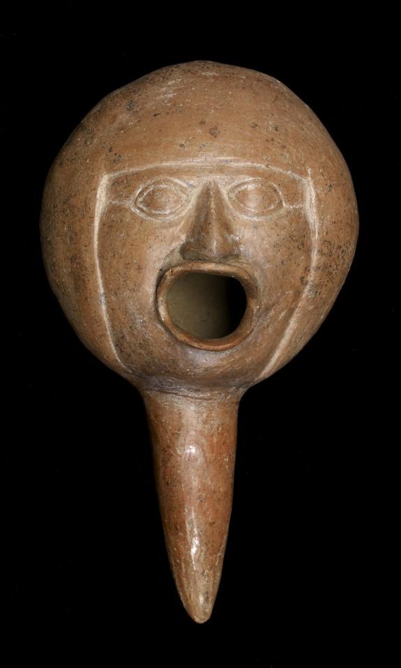 Dipper Depicting Singing Man