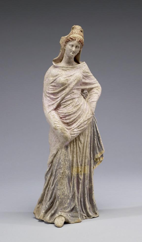 Standing Draped Maiden