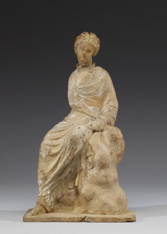 Seated Maiden with