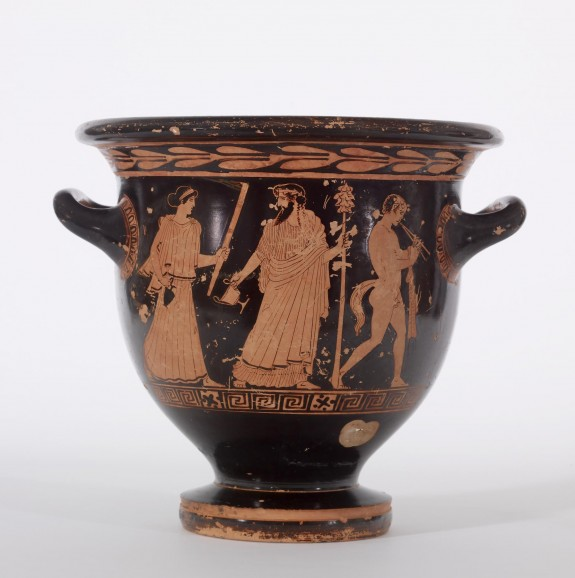 Bell Krater with Dionysiac Scenes