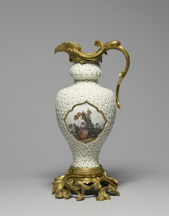 Pitcher with Figures in a Landscape