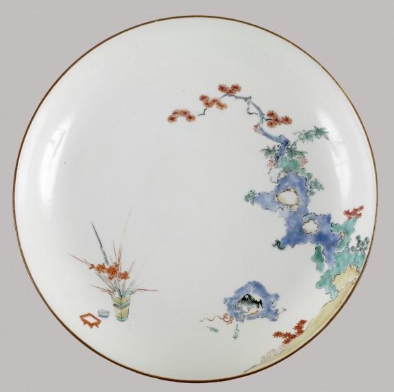 Dish of the Kakiemon Type