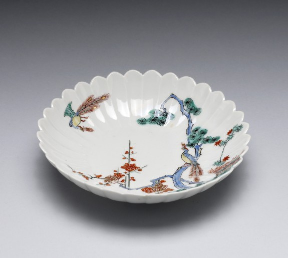Dish with Kakiemon Enamels