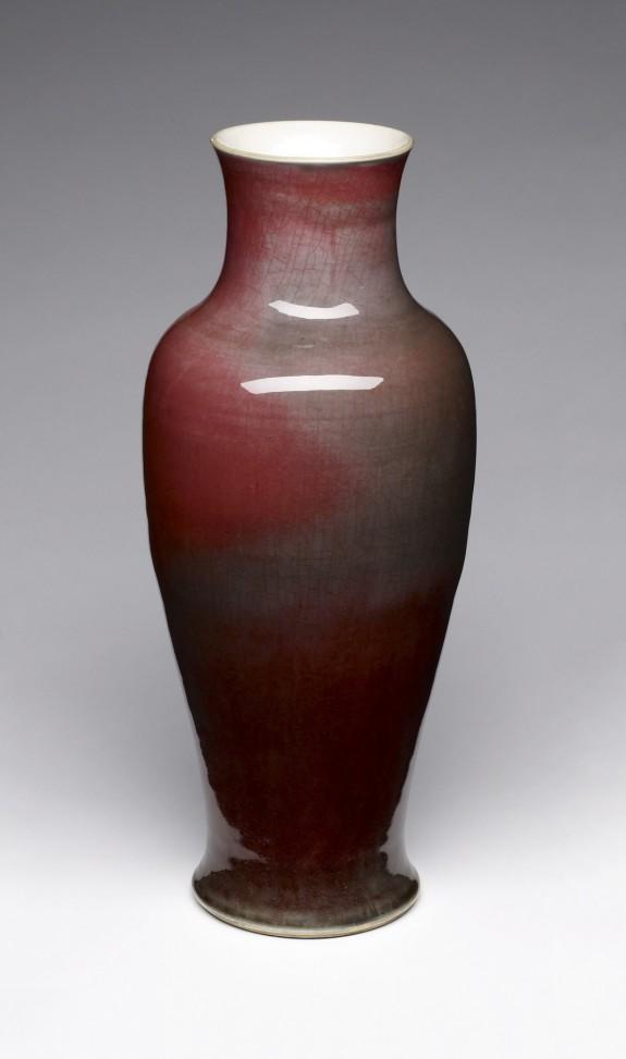 Large Baluster-Shaped Vase