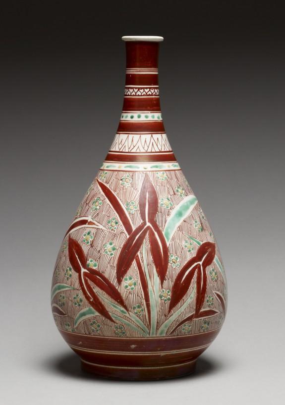 Bottle with Omodaka Plant