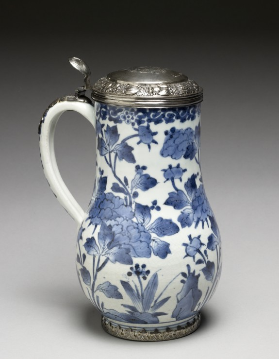 Tankard with Dutch Silver Lid of 1690