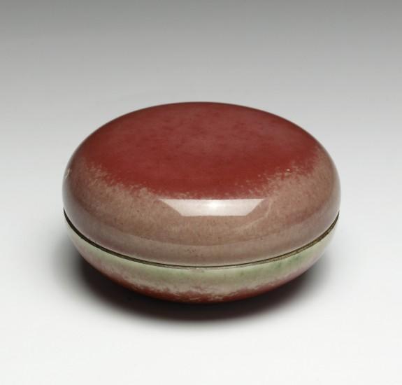 Circular Box for Seal Vermillion