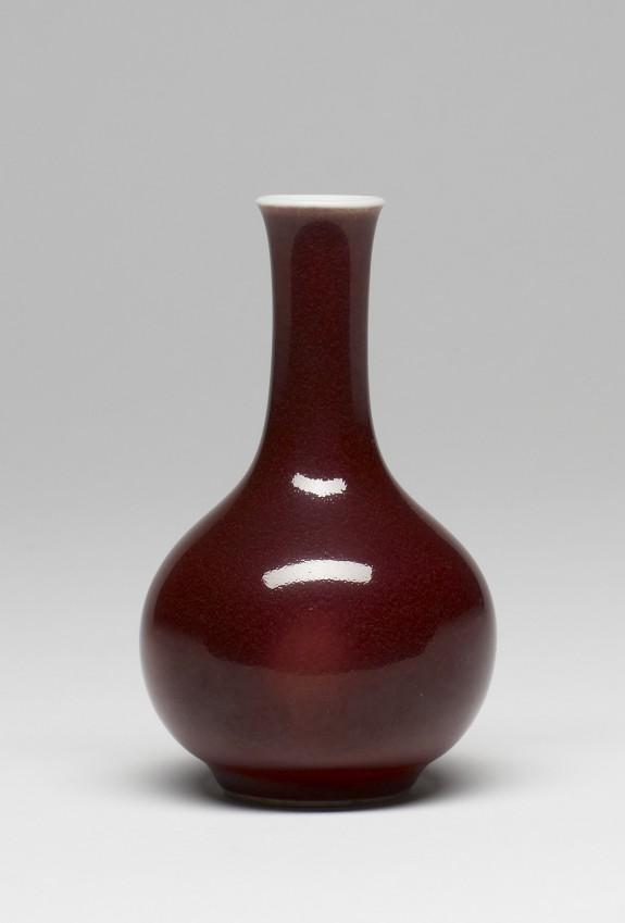 Bottle-Shaped Vase