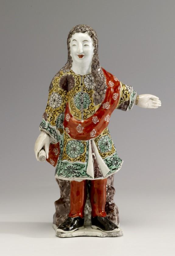 Figurine of a European
