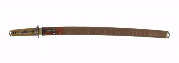 Mounted short sword (wakizashi) (includes 51.1145.1-51.1145.5)