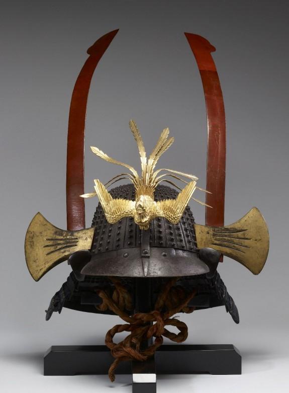 Helmet with Phoenix and Battle-Axe Ornaments