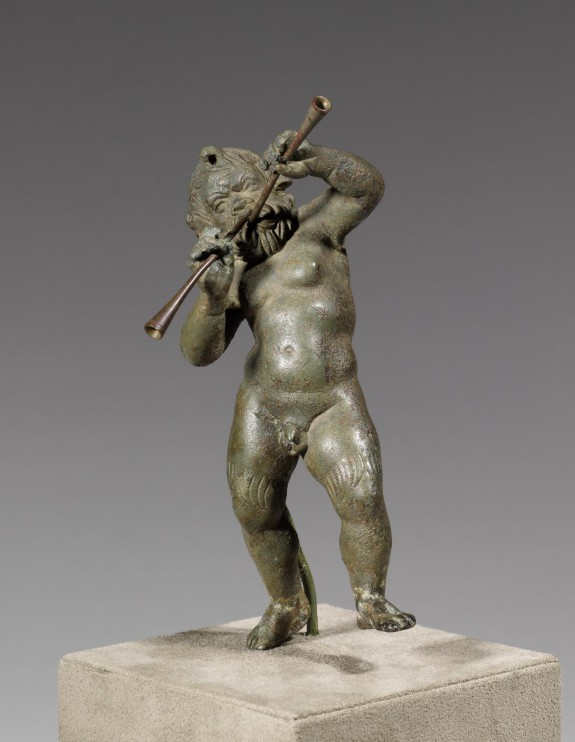 Papposilenos Playing the Double Flute