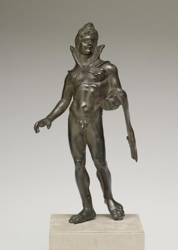 Herakles Carryng the Golden Apples