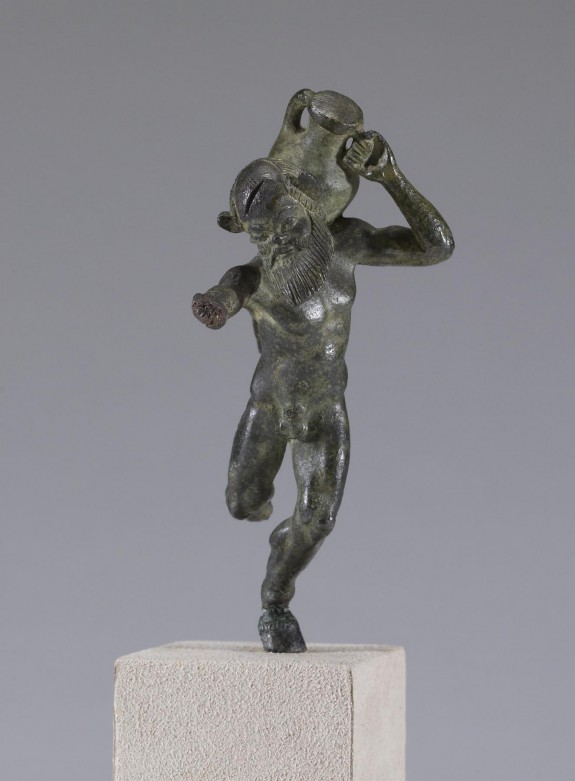 Satyr with Amphora