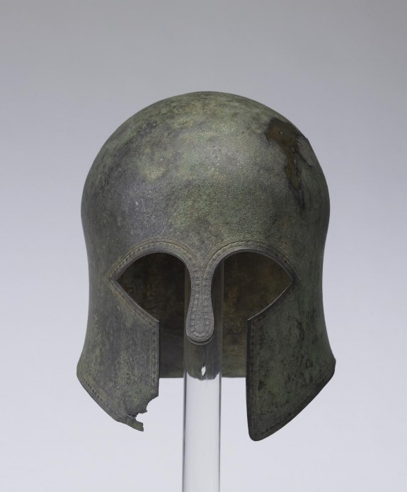 Corinthian-Type Helmet