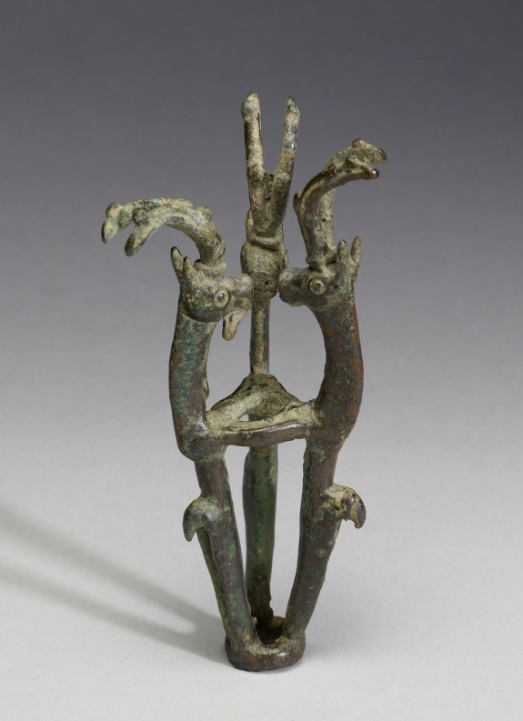 Finial with Three Goats