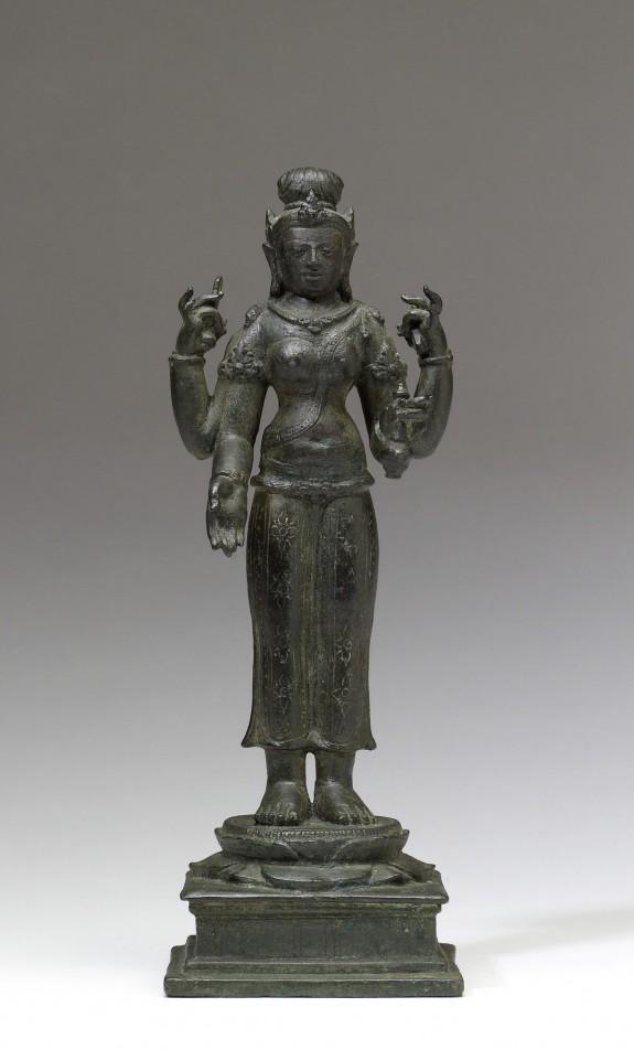 The Buddhist Goddess Bhrikuti