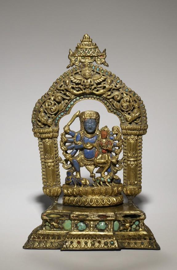 Bhairava with Goddess
