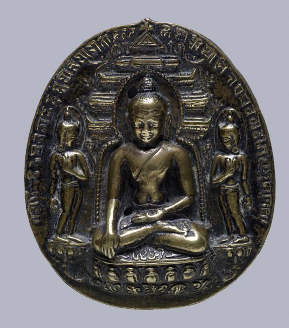 Buddhist Votive Tablet