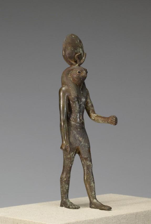 Statue of a Standing Khonsu