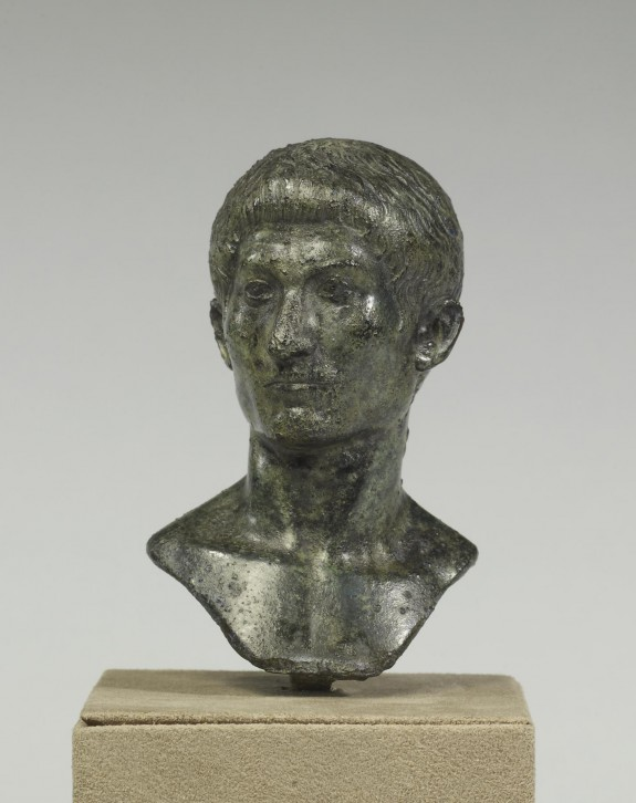 Counterweight with Bust of Tiberius (?)
