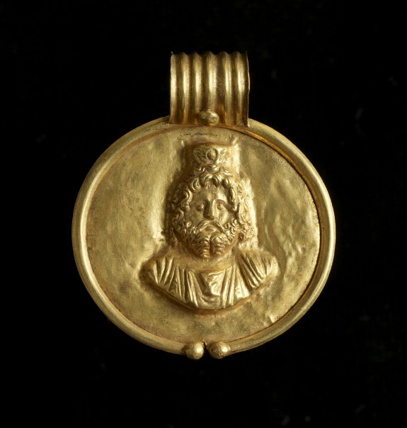 Pendant with Image of Sarapis