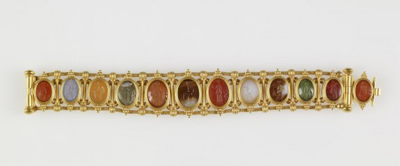 Bracelet with Roman Intaglios