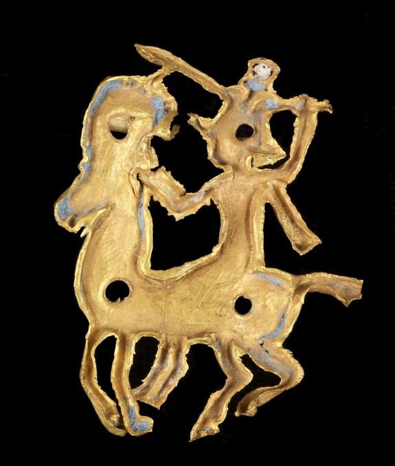 Pendant Frame of Goddess on Horseback