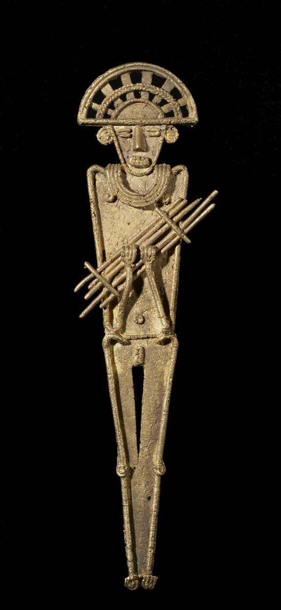 Standing Man with a Bundle of Darts