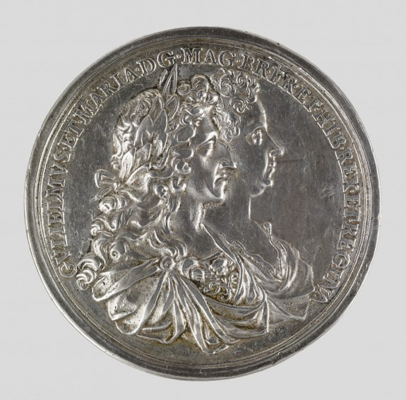 Coronation Medal of William (Willem III) and Mary