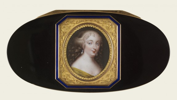Snuffbox with Portrait of Madame de Grignan